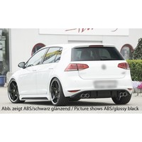R Look Diffuser for Volkswagen Golf 7