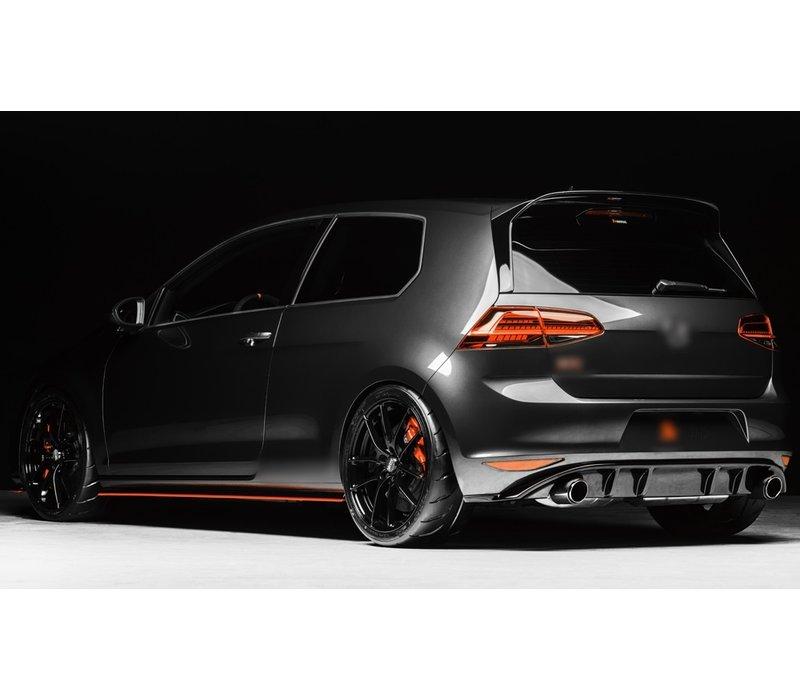 Facelift GTI Look Diffuser voor Volkswagen Golf 7