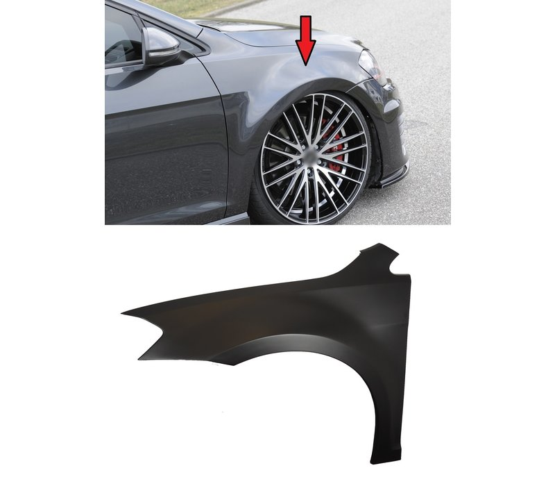 Fender for extremely lowering (ca. 30mm expanded)