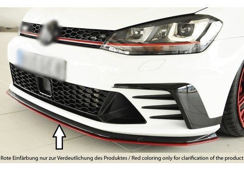 Rieger Front Splitter for Volkswagen Golf 7 GTI Clubsport