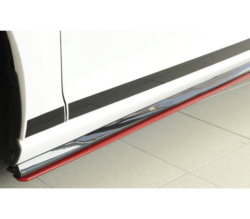 Side skirts Diffuser voor Volkswagen Golf 7 GTI Clubsport