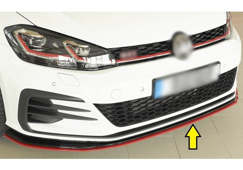 Rieger Front Splitter for Volkswagen Golf 7 Facelift GTI - TCR