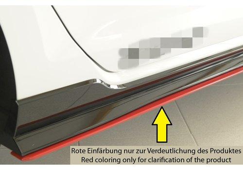 Rieger Seitenschweller Diffusor für Volkswagen Golf 7 Facelift GTI - TCR