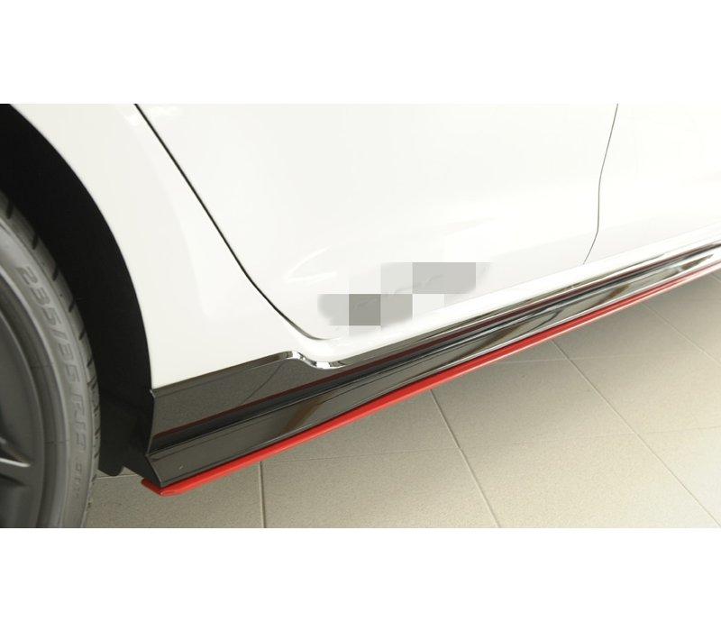 Side skirts Diffuser voor Volkswagen Golf 7 Facelift GTI - TCR