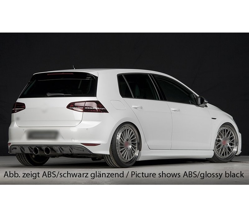 R20 Look Diffuser for Volkswagen Golf 7 R /  R line