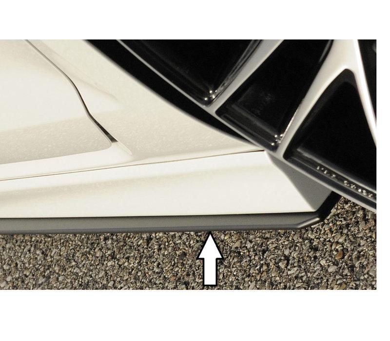 Side skirts Diffuser for Volkswagen Golf 7 R / R line