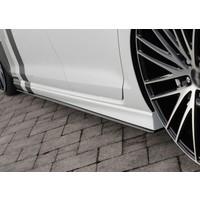 Side skirts Diffuser voor Volkswagen Golf 7 R / R line