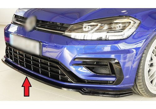 Rieger Front Splitter for Volkswagen Golf 7 Facelift R / R line