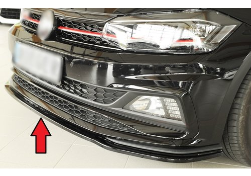 Rieger Front Splitter for Volkswagen Polo 6 (AW) GTI /  R line