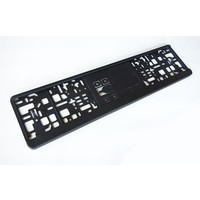 High quality license plate holder - Made in Germany