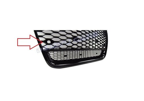 OEM LINE® 2X PDC holder for Audi RS1 RS3 RS4 RS5 RS6 RS7 TT RS Q2 Q3 Q5 Q7 Look Front Grill