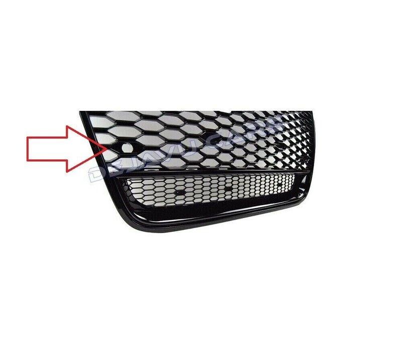 2X PDC houder for Audi RS1 RS3 RS4 RS5 RS6 RS7 TT RS Q2 Q3 Q5 Q7 Look Front Grill