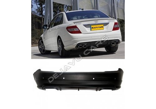 OEM LINE C63 AMG Look Rear bumper for Mercedes Benz C-Class W204