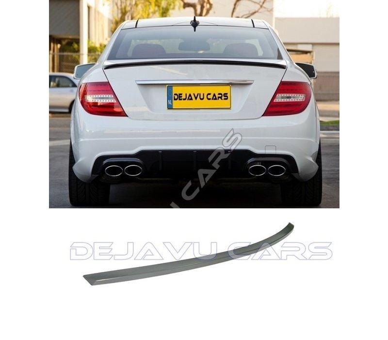 C63 AMG Look Achterklep spoiler lip voor Mercedes Benz C-Klasse W204