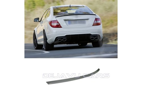 OEM LINE AMG Look Tailgate spoiler lip for Mercedes Benz C-Class W204 Coupe