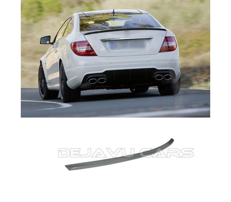 AMG Look Achterklep spoiler lip voor Mercedes Benz C-Klasse W204 Coupe