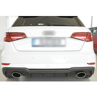 RS3 Look Diffusor für Audi A3 8V S line & S3