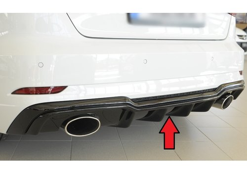 Rieger RS3 Look Diffusor für Audi A3 8V S line & S3