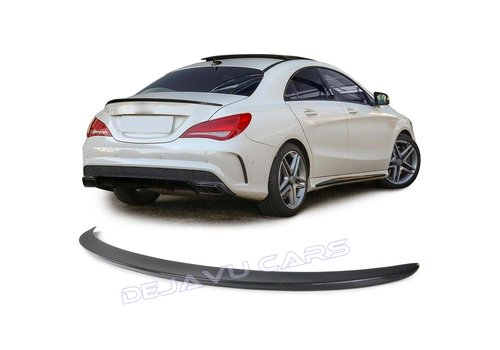 OEM LINE Carbon AMG Look Achterklep spoiler lip voor Mercedes Benz CLA-Klasse W117 / C117