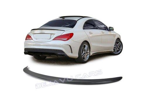 OEM LINE Carbon AMG Look Heckspoiler lippe für Mercedes Benz CLA-Klasse W117 / C117