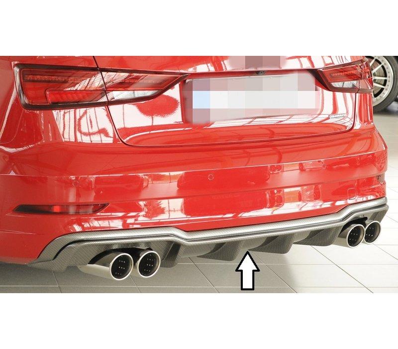 S3 Look Diffusor für Audi A3 8V S line