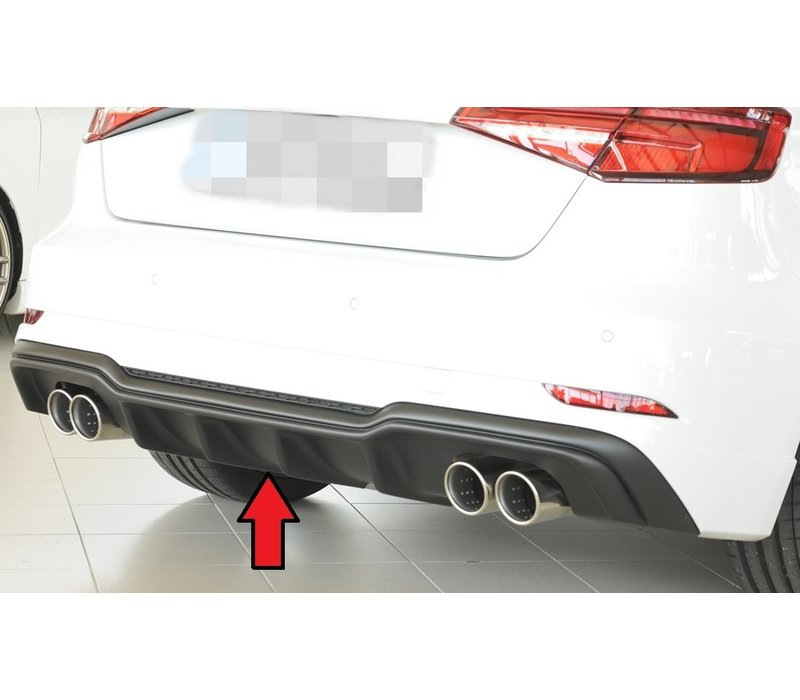 S3 Look Diffuser for Audi A3 8V S line