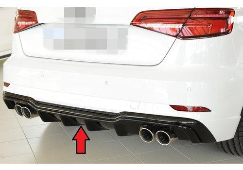 Rieger S3 Look Diffusor für Audi A3 8V S line