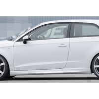 S line S3 RS3 Look Side Skirts voor Audi A3 8V
