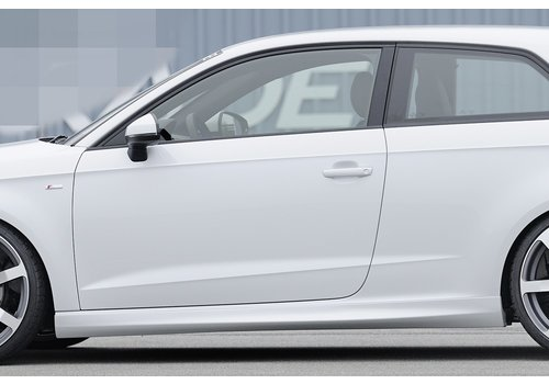 Rieger S line S3 RS3 Look Side Skirts for Audi A3 8V