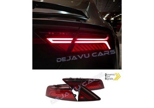 OEM LINE Facelift Look LED Dynamische Achterlichten voor Audi A7 4G
