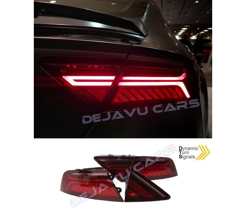Facelift Look Dynamic LED Tail Lights for Audi A7 4G