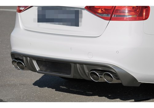 OEM LINE Aggressive Diffuser voor Audi S4 B8 / S line