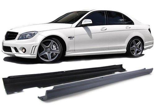 OEM LINE AMG  Look Seitenschweller für Mercedes Benz C-Klasse W204