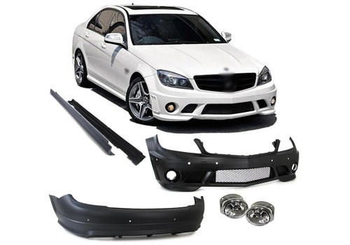 OEM LINE C63 AMG Look Body Kit for Mercedes Benz C-Class W204