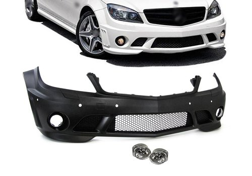 OEM LINE C63 AMG Look Front bumper for Mercedes Benz C-Class W204