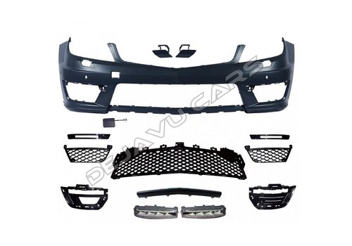OEM LINE Facelift C63 AMG Look Front bumper for Mercedes Benz C-Class W204