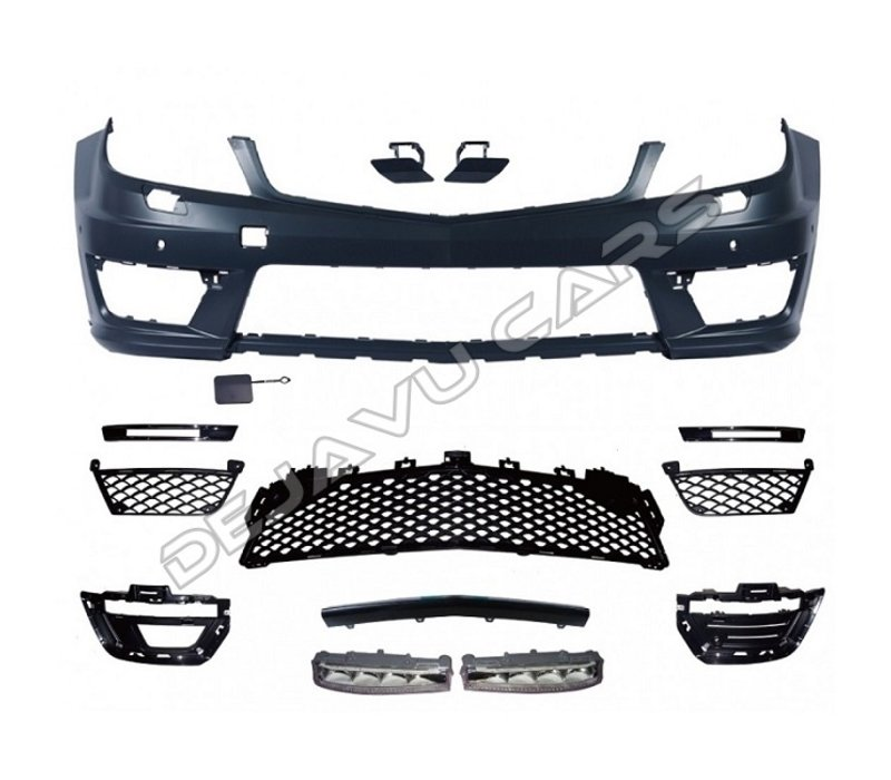 Facelift C63 AMG Look Front bumper for Mercedes Benz C-Class W204