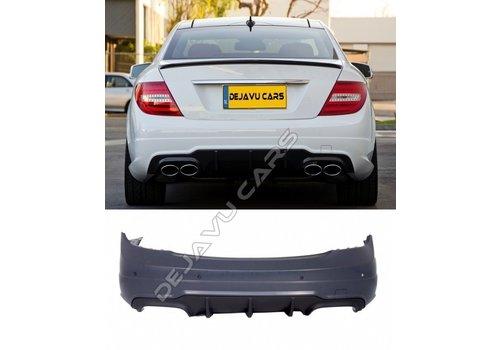 OEM LINE Facelift C63 AMG Look Achterbumper voor Mercedes Benz C-Klasse W204