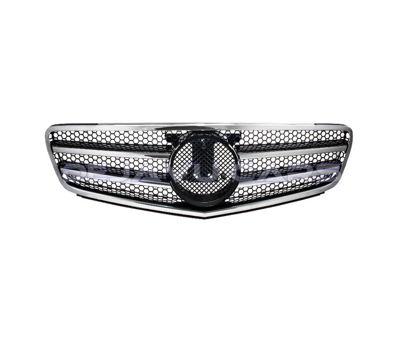 C63 AMG Look Front Grill for Mercedes Benz C-Class W204