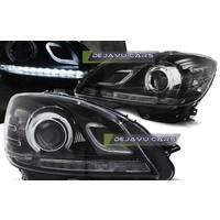 LED Bi Xenon Look Koplampen voor Mercedes Benz C-Klasse W204
