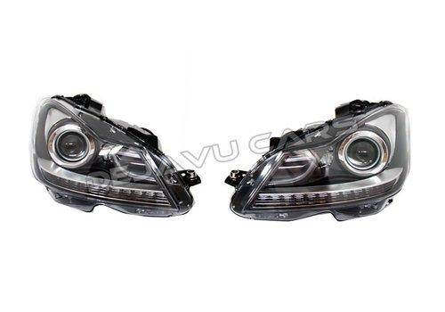 OEM LINE Facelift LED Bi Xenon Look Scheinwerfer für Mercedes Benz C-Klasse W204