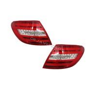 Facelift Look LED Achterlichten voor Mercedes Benz C-Klasse W204