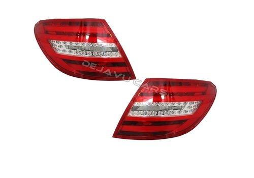 OEM LINE Facelift Look LED Achterlichten voor Mercedes Benz C-Klasse W204