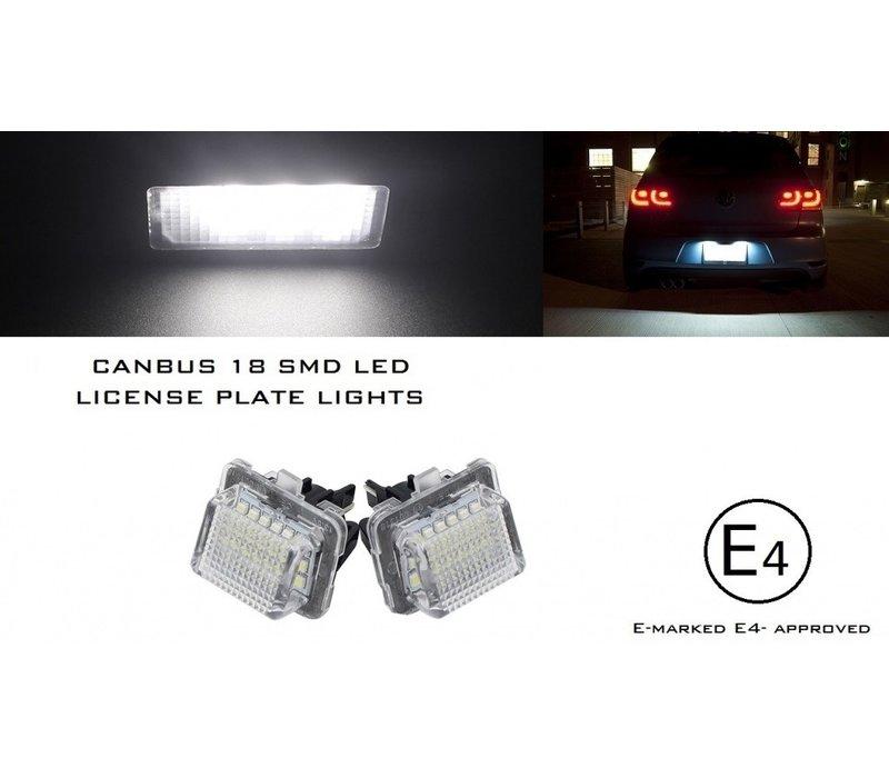 LED Kentekenverlichting voor Mercedes Benz