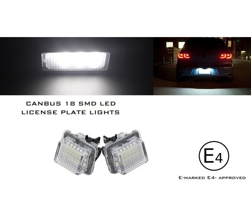 LED License Plate Lights for Mercedes Benz