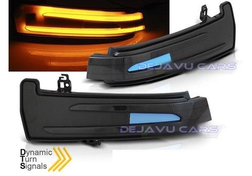 OEM LINE Dynamische LED Buitenspiegel Knipperlichten voor Mercedes Benz  W204 C204 W212 W176 W246 W216 C218 C207 X204 W221