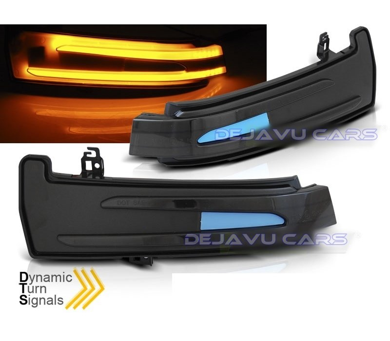 Dynamische LED Buitenspiegel Knipperlichten voor Mercedes Benz  W204 C204 W212 W176 W246 W216 C218 C207 X204 W221