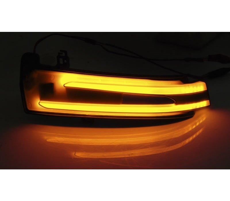 Dynamische LED Buitenspiegel Knipperlichten voor Mercedes Benz  W205 W213 W222