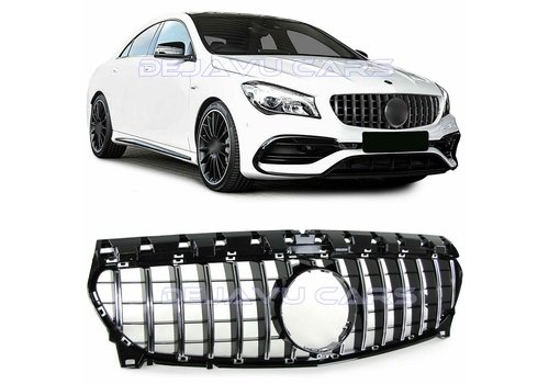 OEM LINE GT-R Panamericana Look Front Grill for Mercedes Benz CLA-Class W117 / C117 / X117 Facelift