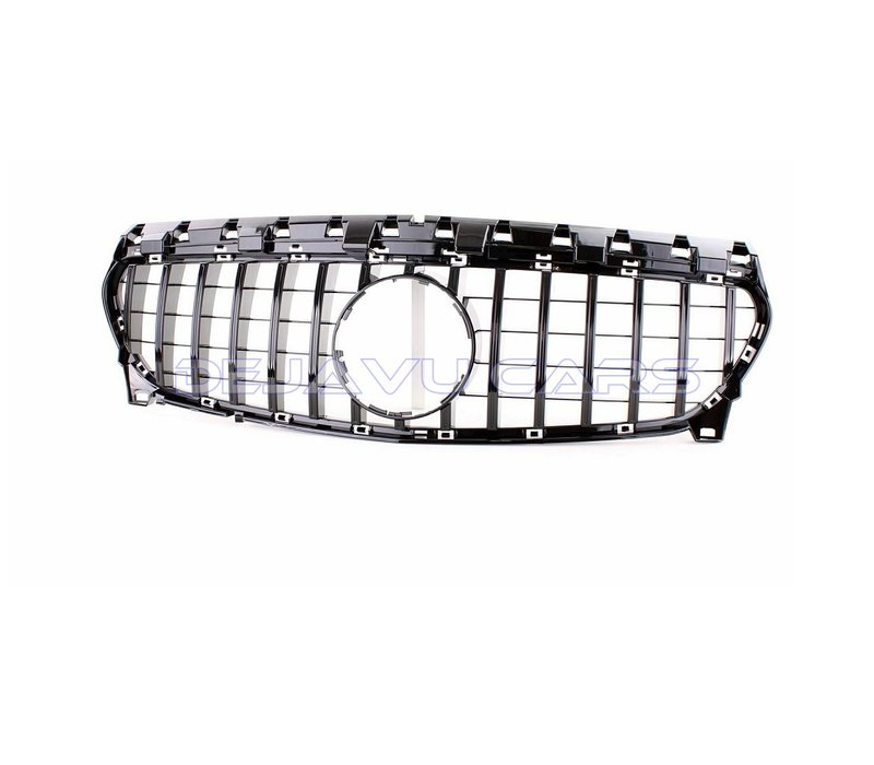 GT-R Panamericana Look Front Grill for Mercedes Benz CLA-Class W117 / C117 / X117 Facelift